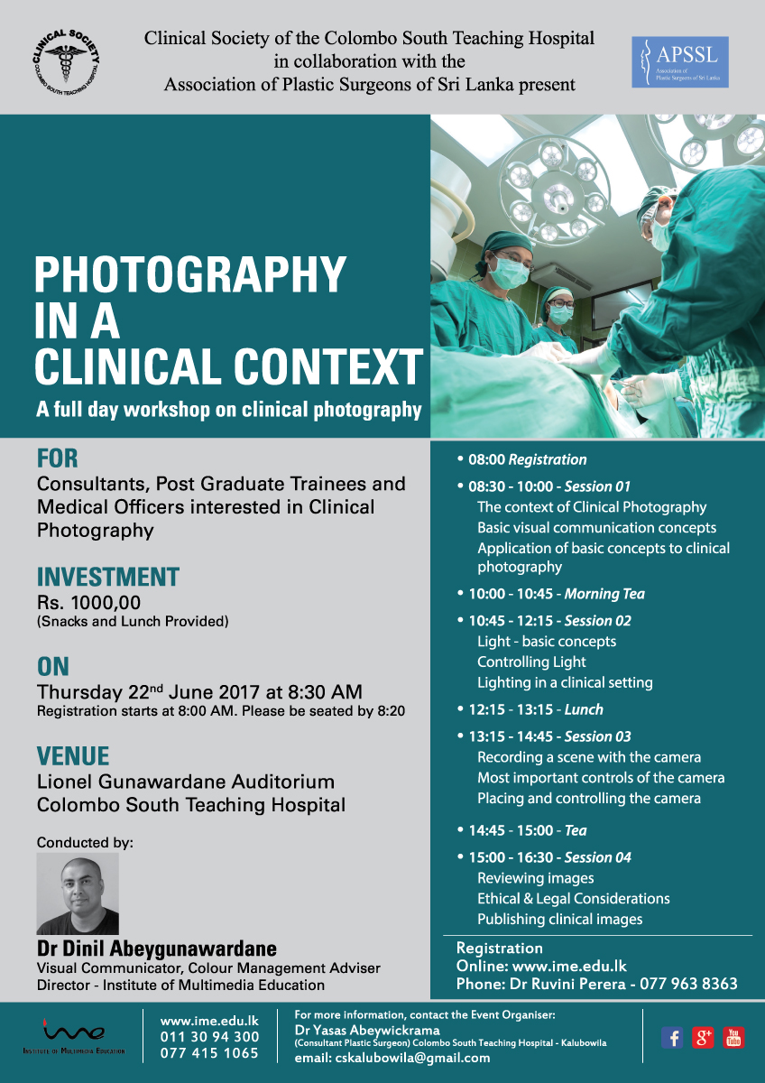 medical photography-clinical photography-ime-institute of multimedia education